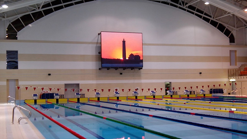 Swimming Arena in Belarus