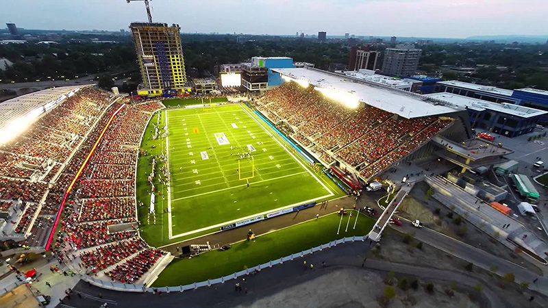 Football Stadium Ottawa