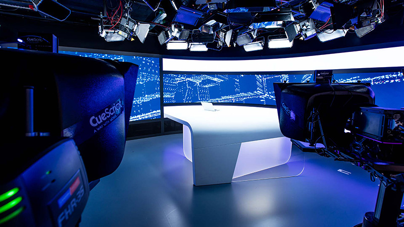 RTL broadcast TV studio